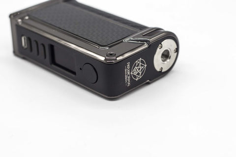 lost vape paranormal dna 250c review image of the 510 connection the 510 location is on the corner as opposed to the center