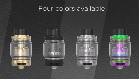 revolver rta review a new atomizer from vandy vape designed to bring out the flavor in your e-juice