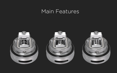 vandy vape revolver rta review image of the revolving airflow