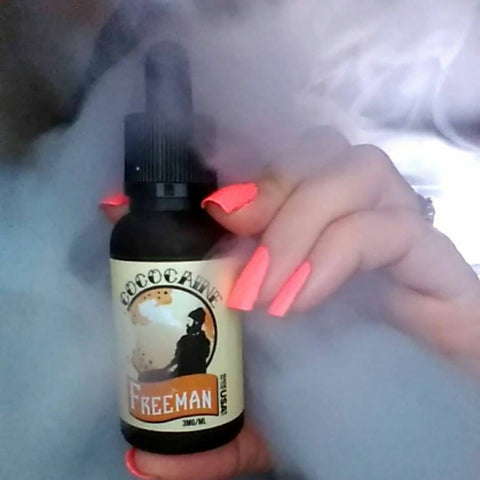 non nicotine vape juice is useful for performing vape tricks and for cloud chasing competitions