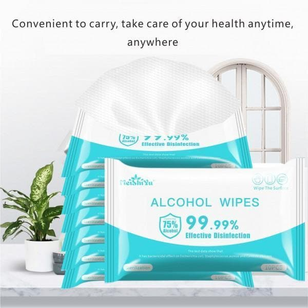 Alcohol Wet Wipes 50 pack
