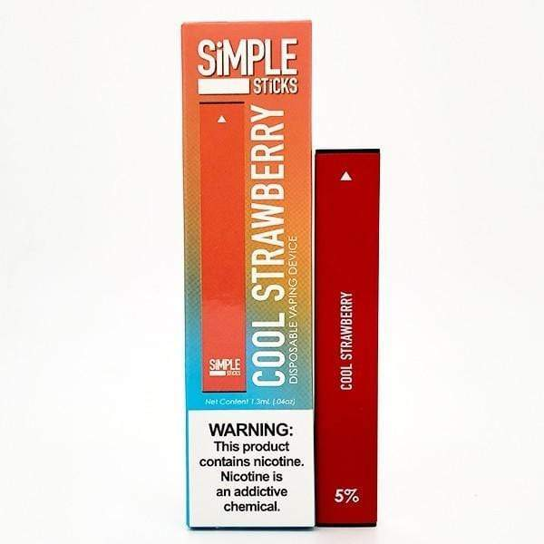 Cool Strawberry - SiMPLE Sticks Disposable Pod 50mg