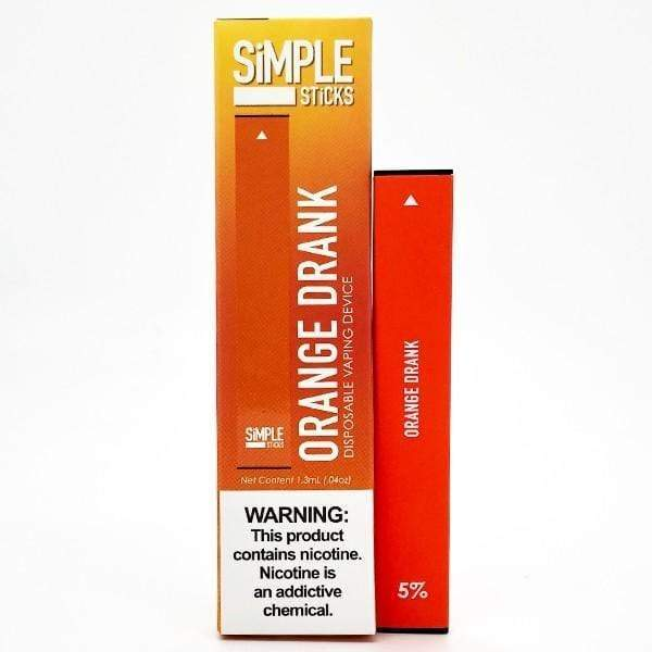 Orange Drank - SiMPLE Sticks Disposable Pod 50mg