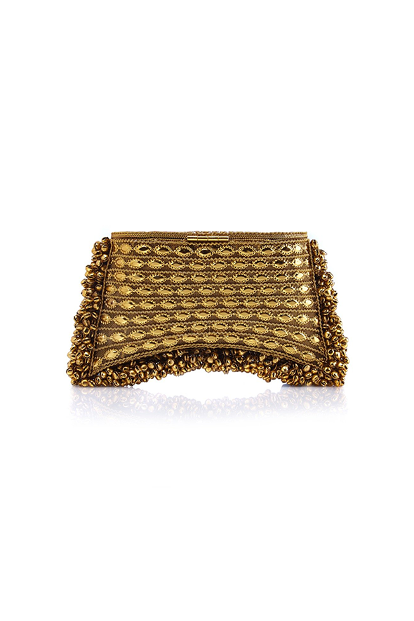 Zeenat Clutch Yellow