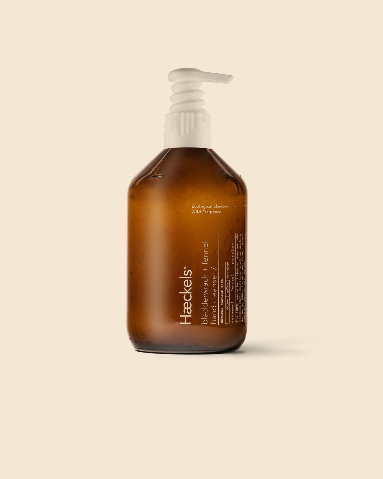 Bladderwrack + Fennel Hand Cleanser With Pump 500ml