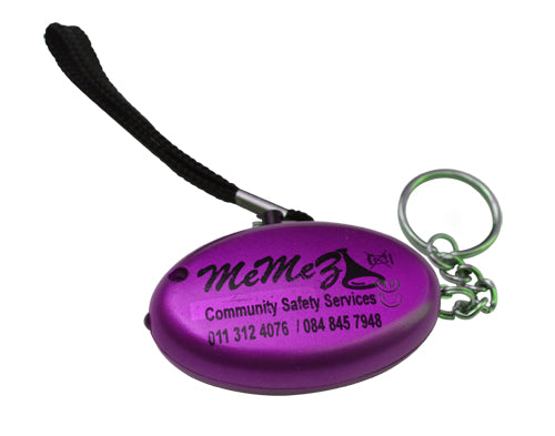 BUSINESS SPECIAL - Help your staff BE SAFE! 100 Personal Alarms, including FREE Branding of your logo on each unit.