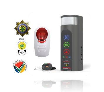 Affordable Community Alarm System: SMS's 20 family, friends and neighbours when you are in trouble!