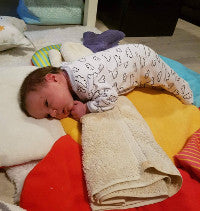 Our Experience with Tummy Time