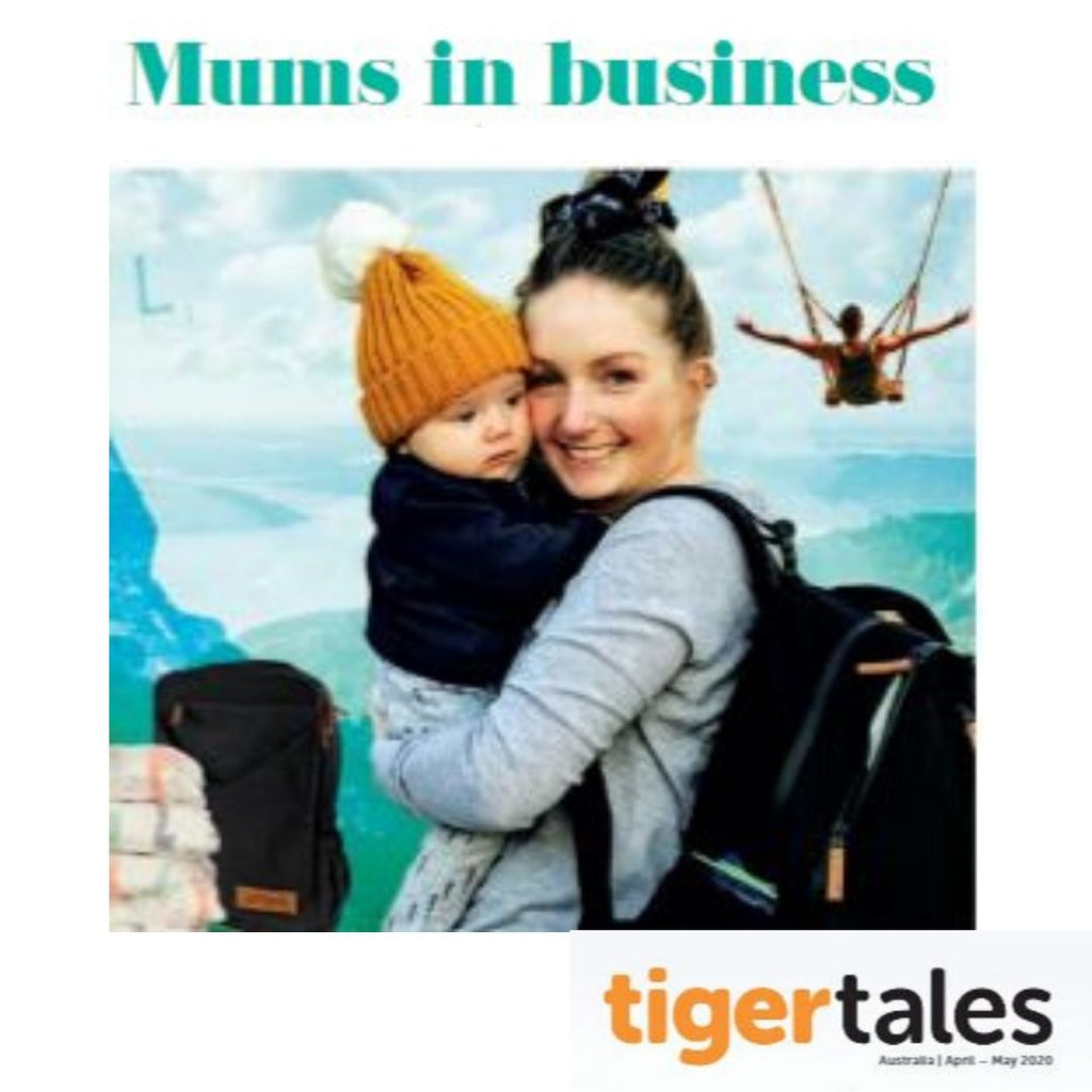 Mums in Business | Feature Article In Tiger Tales (Tiger Air's in flight Magazine)