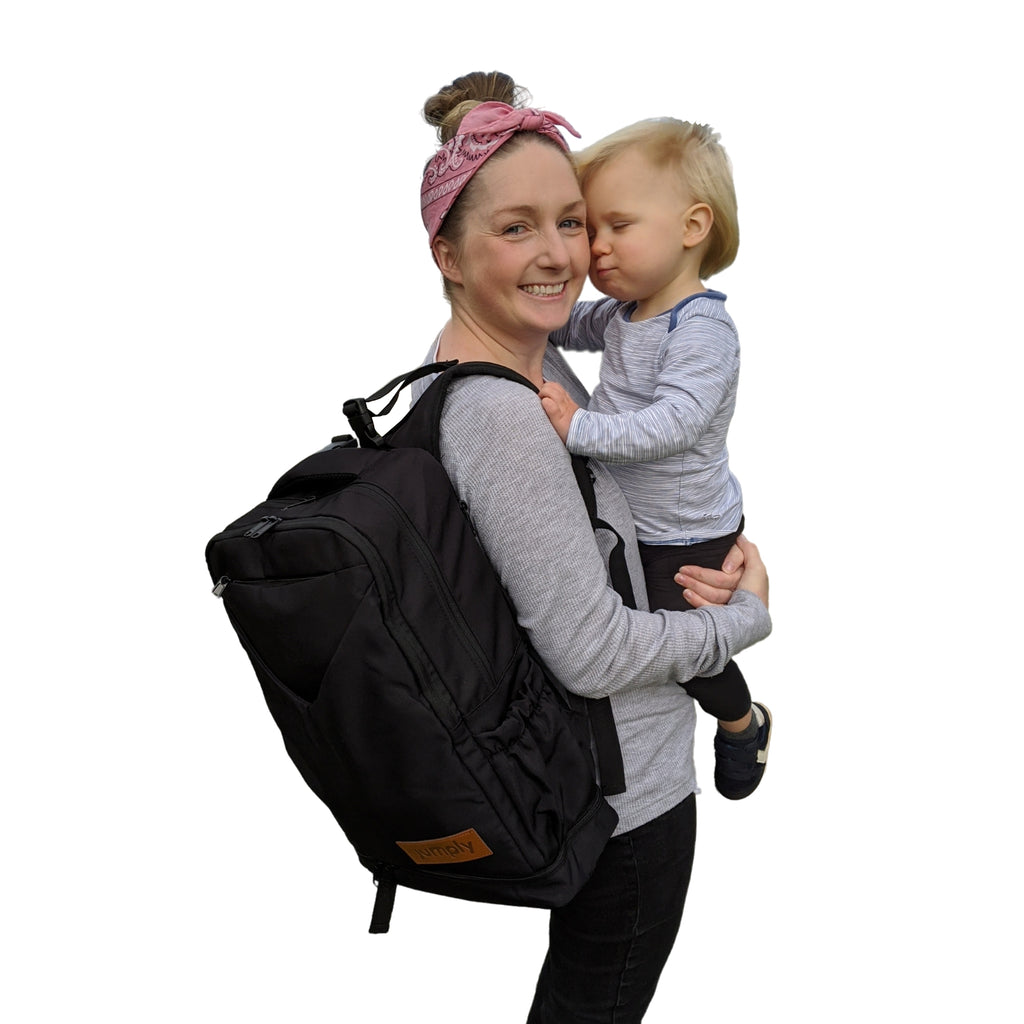 The Adventure Nappy Backpack; one of 'The 7 Best Nappy Bags in Australia in 2021'