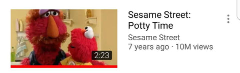 Sesame Street: Potty Time
