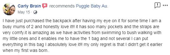 facebook review mum of 2 so many pockets