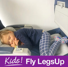 kids fly legsup aeroplane travel