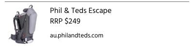 Phil and Teds Escape