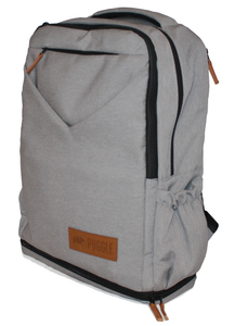Adventure Nappy Backpack Icy Grey side