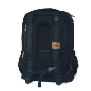 puggle adventure nappy backpack black diamond rear