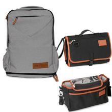 Adventure Nappy Backpack bundle Icy Grey