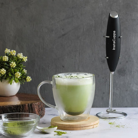 InstaCuppa Premium Milk Frother - Perfect For Making Matcha Tea