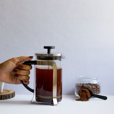InstaCuppa French Press Coffee Maker with Easy To Grip Handle
