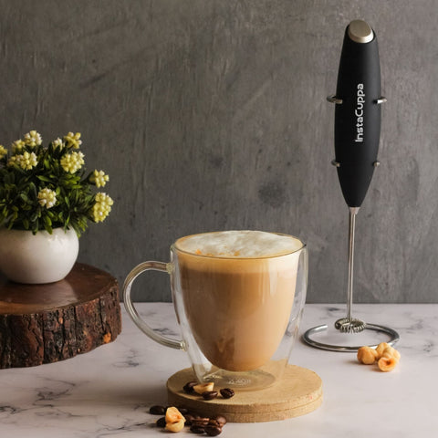 InstaCuppa Premium Milk Frother - Perfect For Making Cappuccino