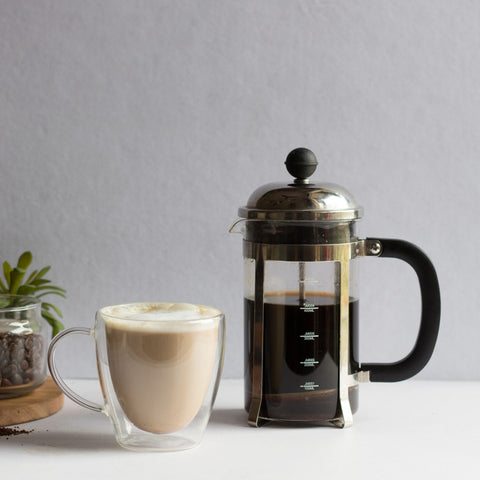 InstaCuppa French Press Coffee Maker - Perfect for Making Coffee Cappuccinos