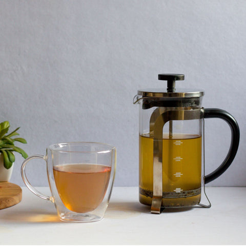 InstaCuppa French Press Coffee Maker - Perfect For Making Green Tea