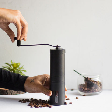 InstaCuppa Manual Coffee Grinder - How To Use - Step 2