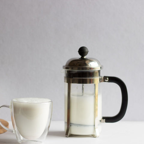 InstaCuppa French Press Coffee Maker - Perfect For Milk Frothing