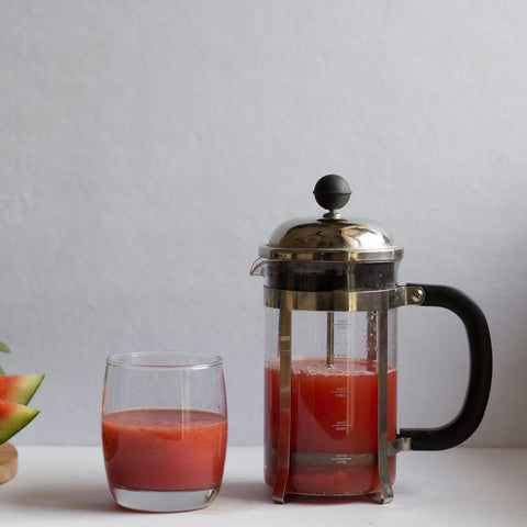 InstaCuppa French Press Coffee Maker - Perfect For Fruit Squashes