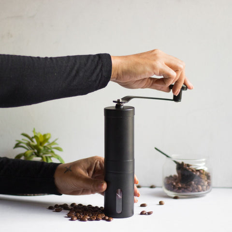 InstaCuppa Manual Coffee Grinder - How To Use - Step 3