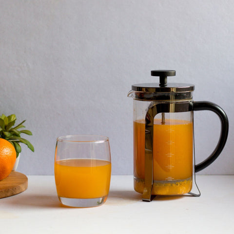 InstaCuppa French Press Coffee Maker - Perfect For Making Fruit Squash