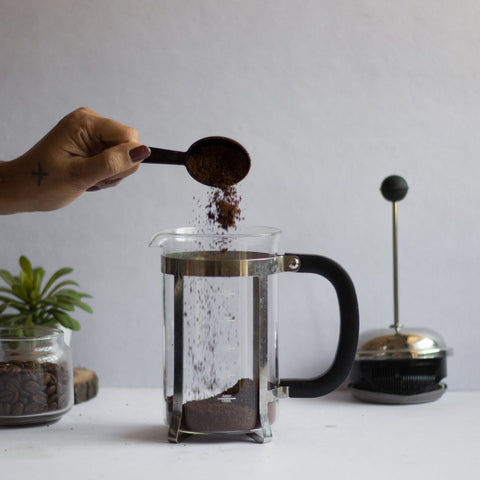 InstaCuppa French Press Coffee Maker - How To Use Step 1