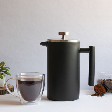 InstaCuppa Stainless Steel French Press Coffee Maker Will Perfectly Fit Into Your Kitchen
