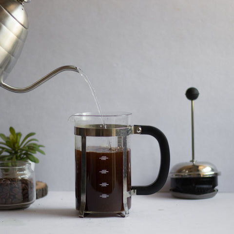 InstaCuppa French Press Coffee Maker - How To Use - Step 2