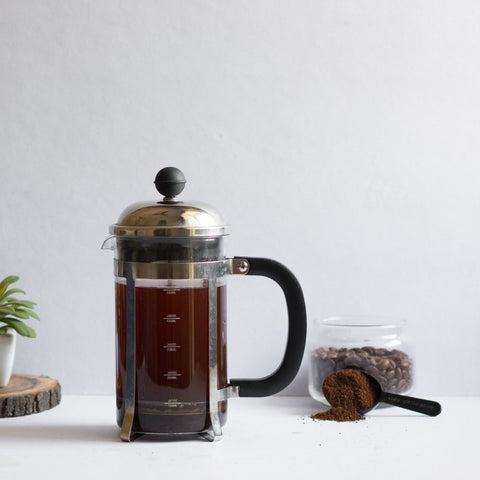 InstaCuppa French Press Coffee Maker - How To Use - Step 4
