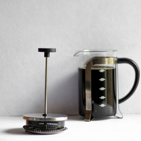 InstaCuppa French Press Coffee Maker with 4 Part Superior Filtration