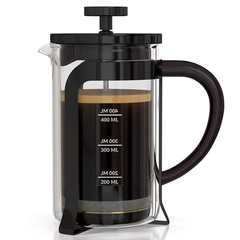 Image of InstaCuppa French Press Coffee Maker 600 ML - Aero Edition