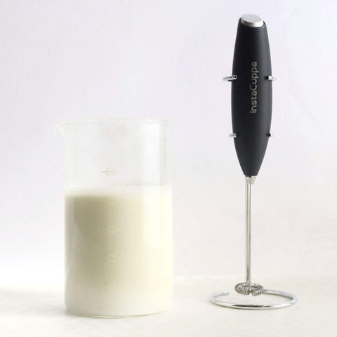 InstaCuppa Milk Frother with Glass Pitcher
