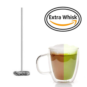 InstaCuppa Extra Replacement Whisk Pack Of 2 For Milk Frother With Stand - Accessory