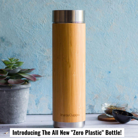 Bamboo Green Tea Infuser by InstaCuppa