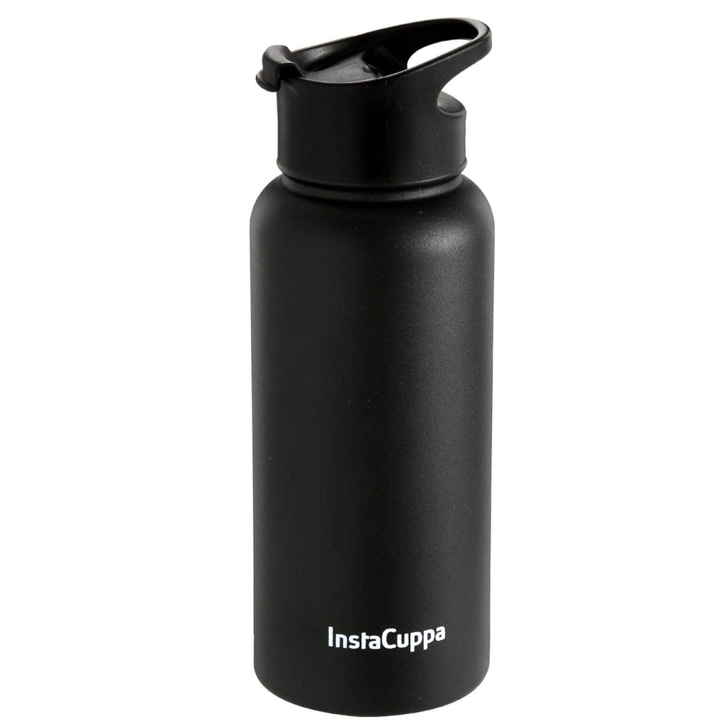 InstaCuppa Thermos Bottle with Flip Top Carry Lid 1000 ML/550 ML, Double-Wall Thermos Flask, Vacuum Insulated Stainless Steel | Retains Hot and Cold Temperatures
