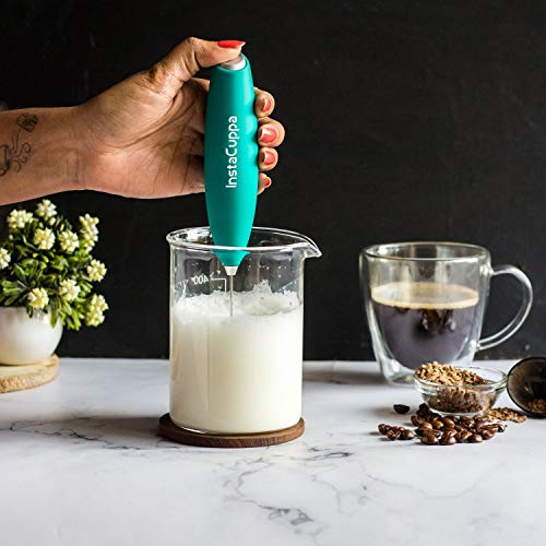 InstaCuppa Glass Pitcher with MilkFrother