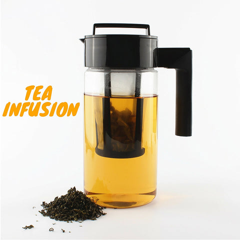 InstaCuppa Cold Brew Coffee Maker | Fruit Infuser Pitcher | Iced Tea Pot 1300ml