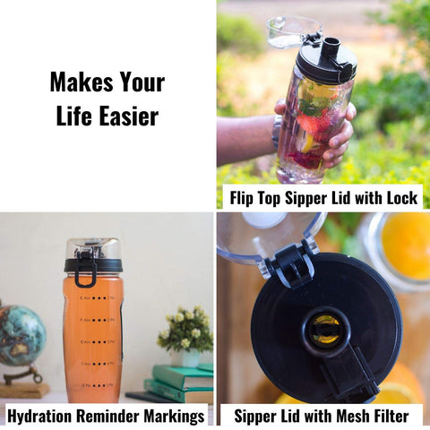 InstaCuppa Detox Water Bottle Online