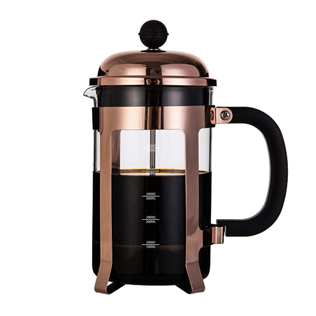 Shop InstaCuppa French Press Coffee Maker with 4 Part Superior Filtration with Neoprene Sleeve for Extra Protection