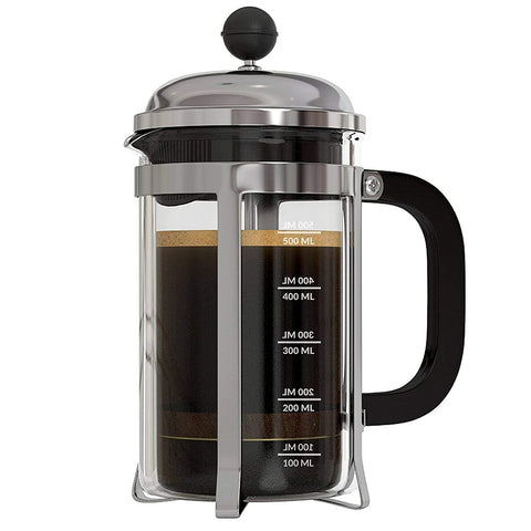Image of Shop InstaCuppa French Press Coffee Maker with 4 Part Superior Filtration with Neoprene Sleeve for Extra Protection