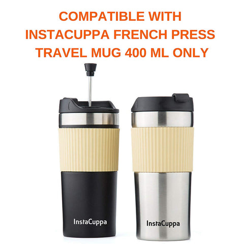 InstaCuppa Travel French Press Flip Top Sipper Lid Add On