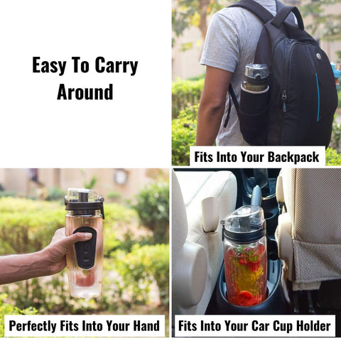 Easy to Carry InstaCuppa Water Bottle