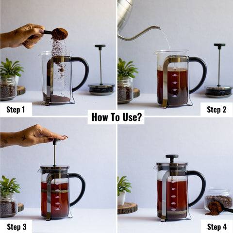 Image of How to use InstaCuppa Coffee Maker