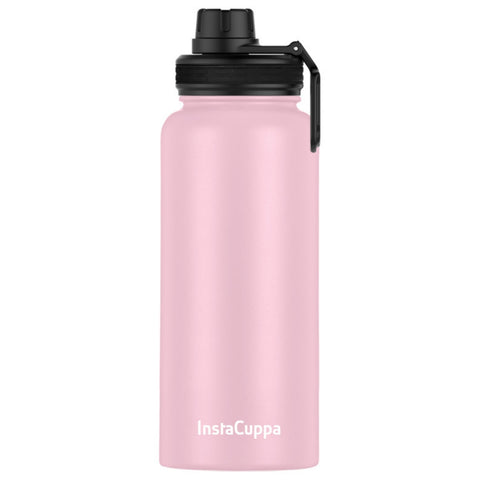 Image of Pink Colour InstaCuppa Thermos Water Bottle